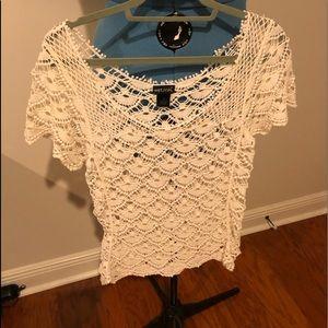 Wet seal cotton blouse